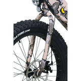 QuietKat Rover 750 Hub Motor Drive Fat Tire Electric BikeRelax And Ride Bikes