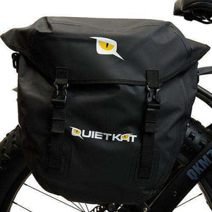 Quietkat Electric Bike Pannier Bags (Set of 2)Relax And Ride Bikes