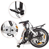 "Ecotric Starfish 20"" Portable & Folding Electric BikeRelax And Ride Bikes"