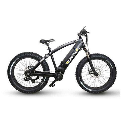 QuietKat 2018 Warrior 1000 8-Speed Fat Tire Mountain Electric BikeRelax And Ride Bikes