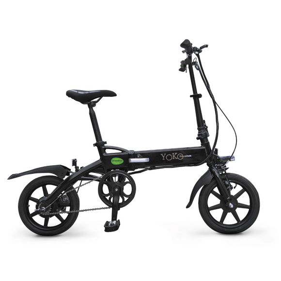 GreenBike Electric Motion Yoko Premium Folding Electric BikeRelax And Ride Bikes