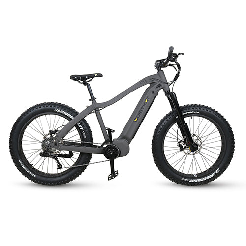 QUIETKAT 2020 APEX 1000W CHARCOALElectric BicycleQuietKatRelax And Ride Bikes