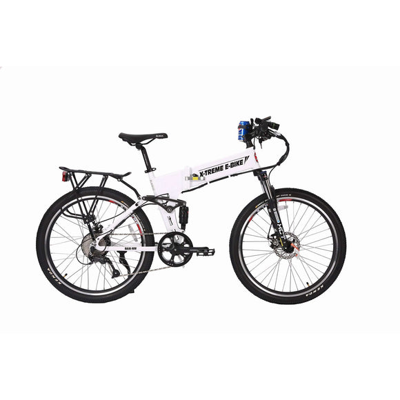 X-Treme Baja Folding Electric Mountain BikeRelax And Ride Bikes