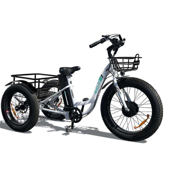 EMOJO Caddy Cargo Electric TrikeRelax And Ride Bikes