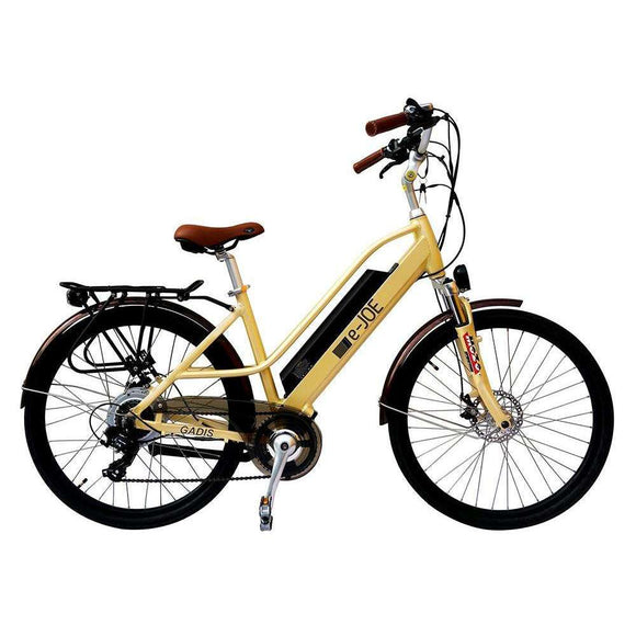 e-JOE GADIS Step-Through Cruiser Electric BikeStep Through Bikee-JOERelax And Ride Bikes