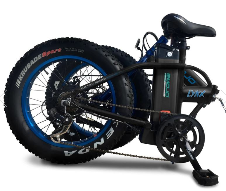 EMOJO Lynx Folding Fat Tire Electric Bike – Relax And Ride Bikes