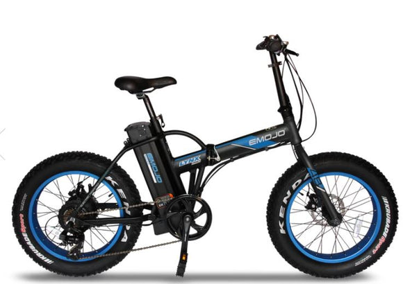 EMOJO Lynx Pro Basic and Ultra Folding Fat Tire Electric Bike