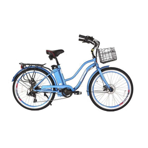 X-Treme Malibu Elite 24V Beach Cruiser Electric BikeBeach CruiserX-TremeRelax And Ride Bikes