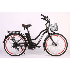X-Treme Malibu Elite Max 36V Beach Cruiser Electric BikeRelax And Ride Bikes