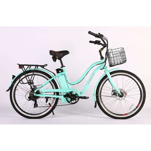 X-Treme Malibu Elite Max 36V Beach Cruiser Electric BikeBeach CruiserX-TremeRelax And Ride Bikes