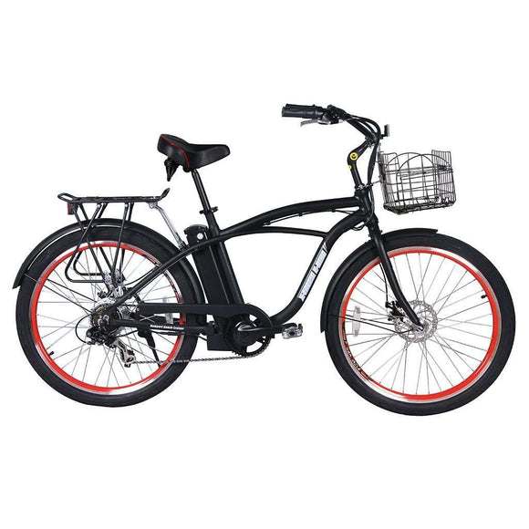 X-Treme Newport Elite Beach Cruiser Electric BikeBeach CruiserX-TremeRelax And Ride Bikes