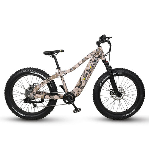 QUIETKAT 2020 750W CAMO RANGERElectric BicycleQuietKatRelax And Ride Bikes