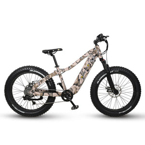 QUIETKAT 2020 1000W CAMO RANGERElectric BicycleQuietKatRelax And Ride Bikes