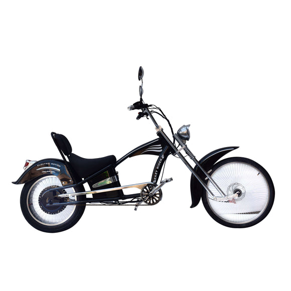 GreenBike Electric Motion EZ Rider 750W Cruiser Electric BikeRelax And Ride Bikes