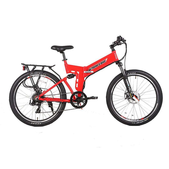 X-Treme X-Cursion Elite Max 36V Electric Folding Mountain BikeMountain Electric BikeX-TremeRelax And Ride Bikes