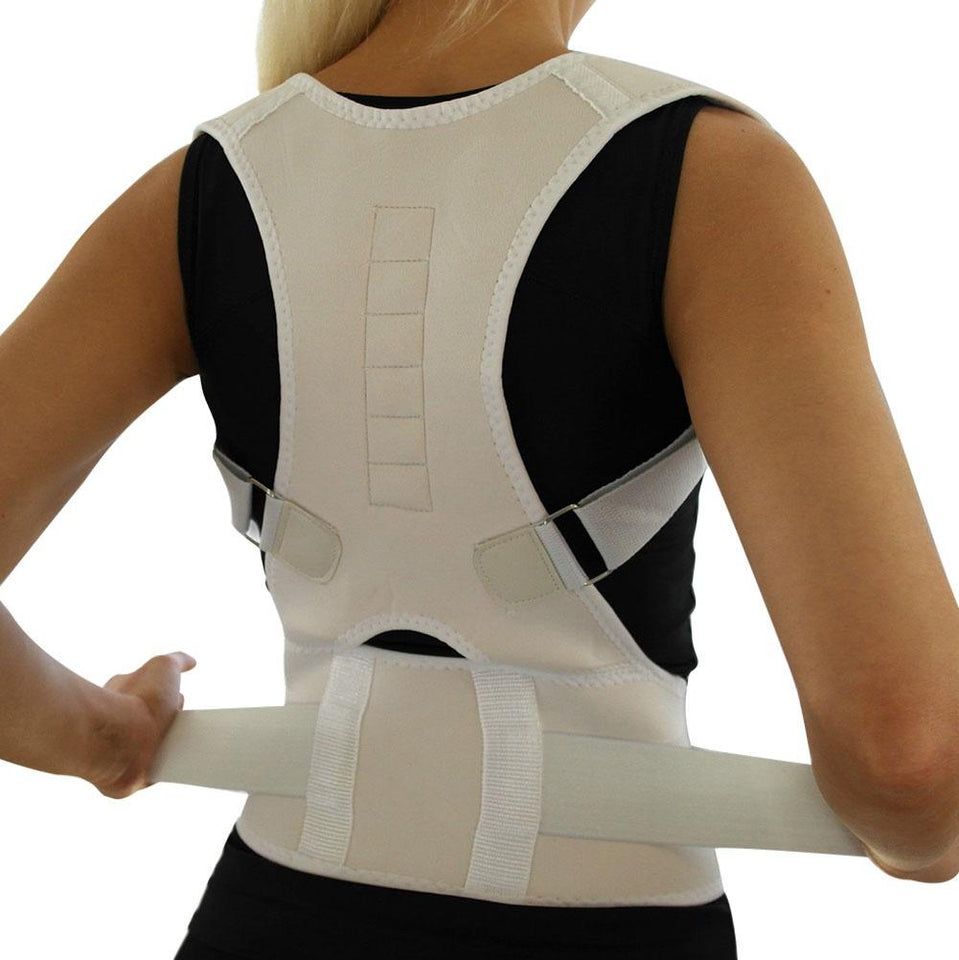 POSTURE CORRECTOR BELT WITH MAGNETIC THERAPY