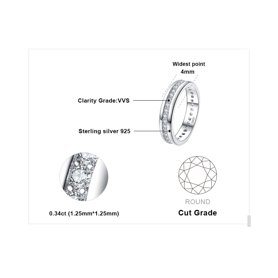 Channel Eternity Ring Pure
