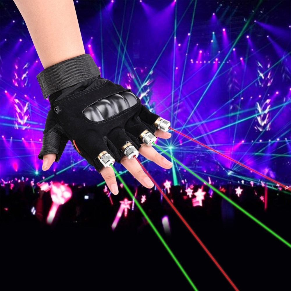 Laser Gloves for Stage Show