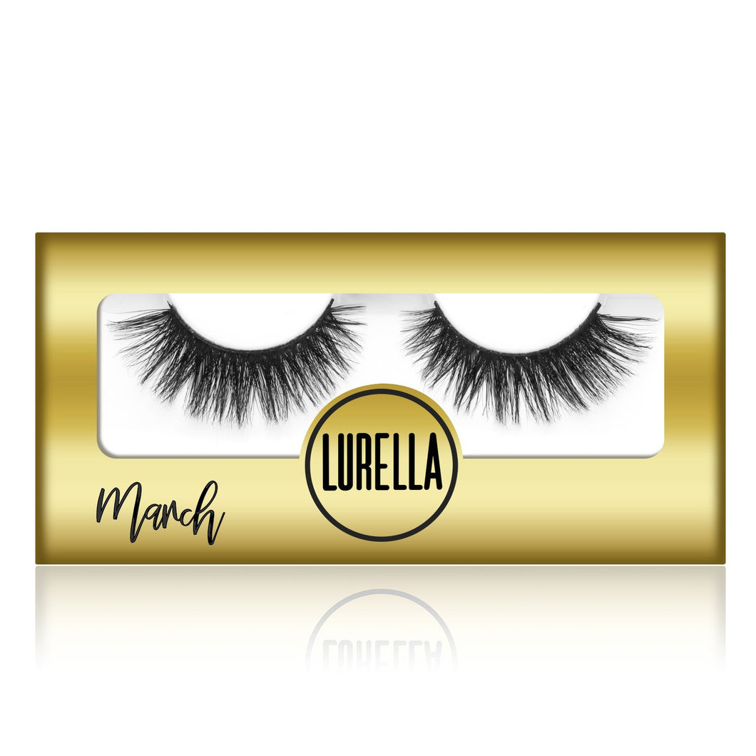 March - Lurella Lashes