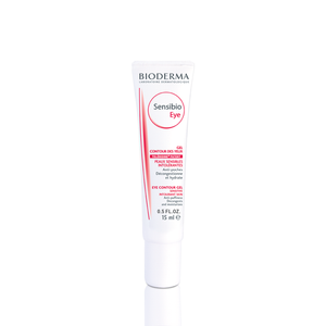 Sensibio Anti-Puffiness Moisturizing Eye Contour Gel for Sensitive Skin 0.5fl oz - Bioderma