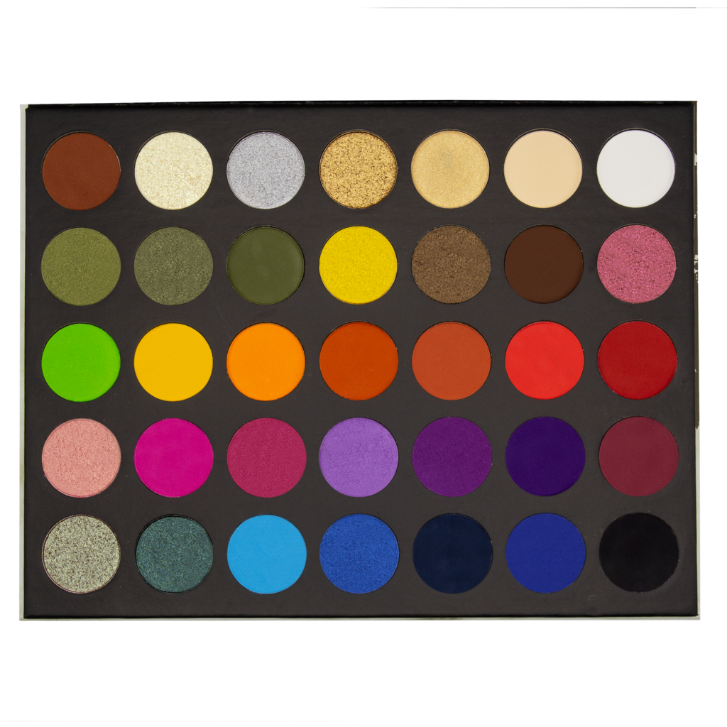 The Make Up Shack - Rainforest Pallete