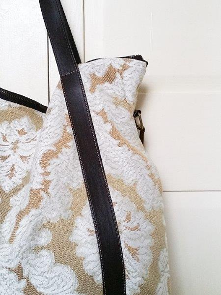 Up-cycled Nappy Bag - Mireia