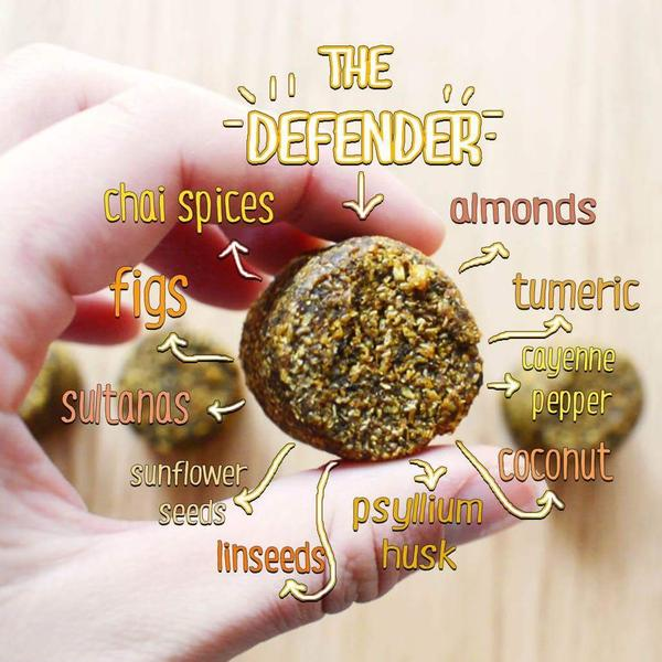 The Defender Golden Chai Smoothie Bomb