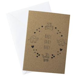 Baby Baby Baby Card