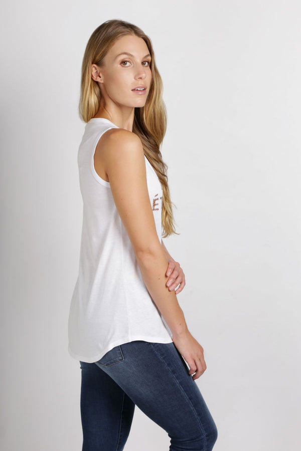 Mode Ethique Singlet | White
