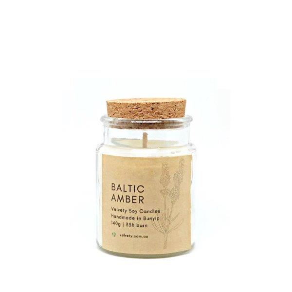 Baltic Amber Soy Candle
