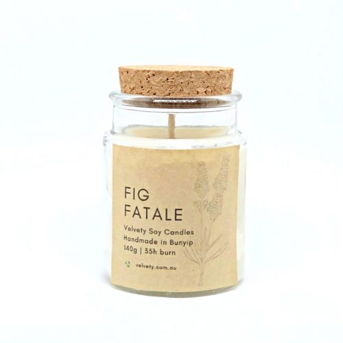 Fig Fatale Soy Candle