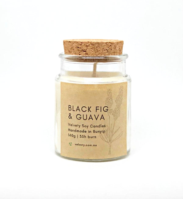 Black Fig and Guava Soy Candle