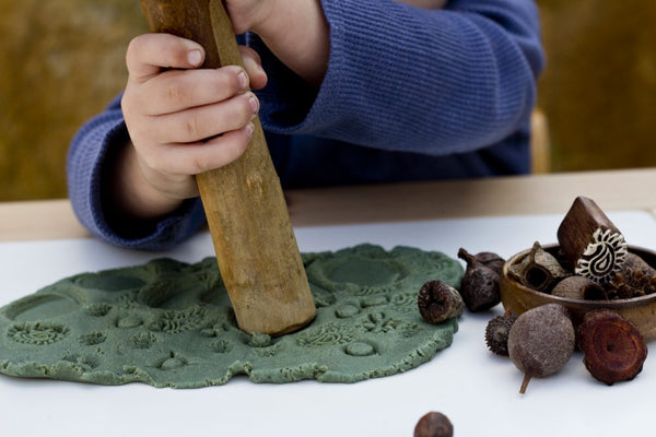 Natural Play Dough Tool Kit