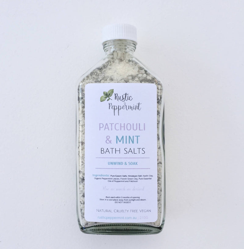 Natural Vegan Bath Salts