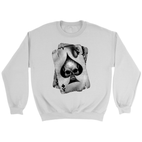 Ace Of Spades Sweatshirt Destiny 2 Skull