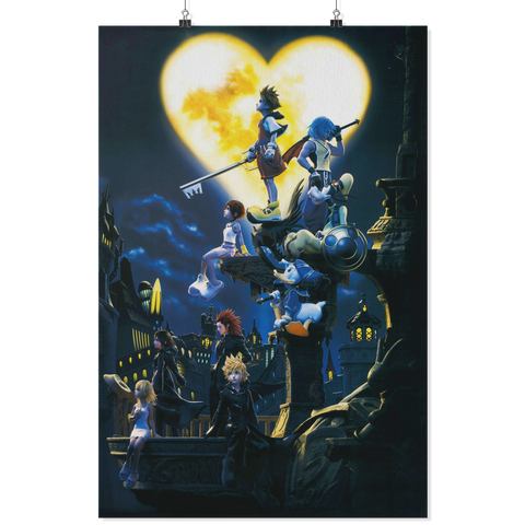 Kingdom Hearts 3 Poster