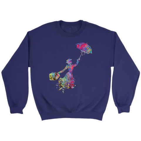 Christmas Sweatshirt Mary Poppins
