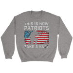 Patriots Veteran Day Sweatshirt Hoodie Take