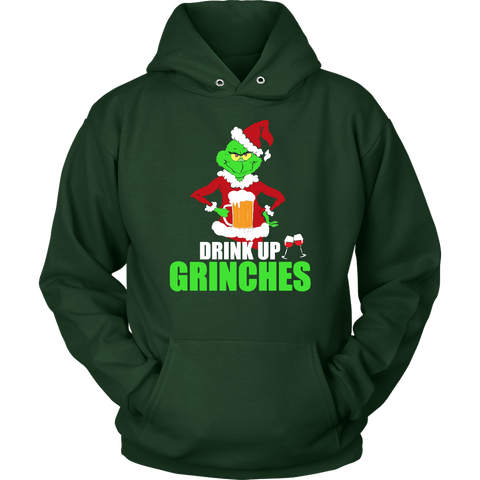 Drink Up Grinches Sweatshirt Hoodie Grinches