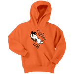 Thanksgiving Youth Sweatshirt Hoodie Turkey Leg