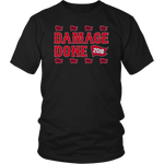 Damage Done Shirt Red Sox Champs Flag