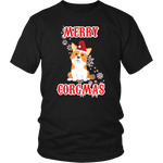 Christmas Shirt Corgi Merry Corgmas