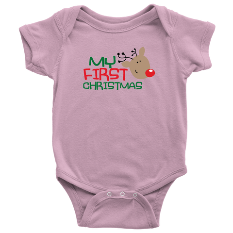 Baby's My First Christmas Bodysuit