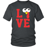 Funny Thanksgiving Shirt Turkey Love