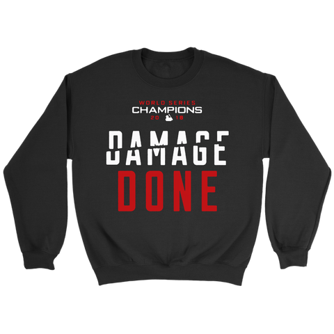 Red Sox Damage Done Sweatshirt