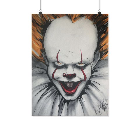 Pennywise Painting Poster