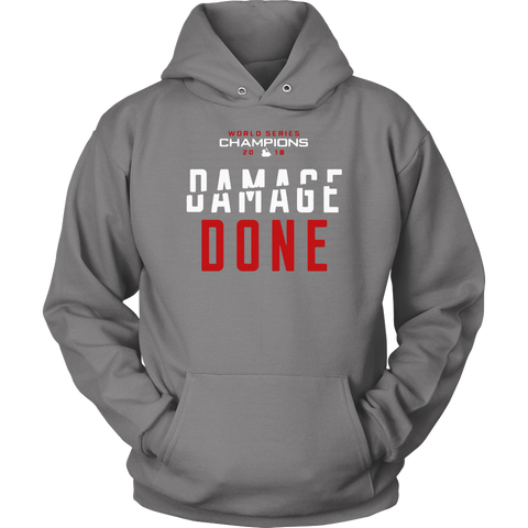 Red Sox Damage Done Sweatshirt Hoodie