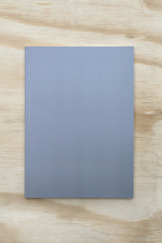 Nebraska Perfect Bound Notebook - Grey