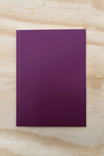 Nebraska Perfect Bound Notebook - Plum