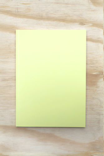 Nebraska Perfect Bound Notebook - Yellow
